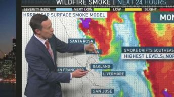 Rob's Forecast: Cool Coast and Bay, Fire Danger Continues Inland
