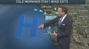 Jeff's Forecast: Chilly Morning & Rain Outlook