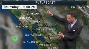 Jeff's Forecast: Clouds Increase & Rain Soon