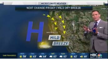 Jeff's Forecast: Mild and Breezy