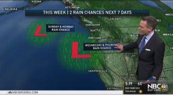 Jeff's Forecast: Cold 30s & New Rain Chance