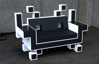 The Space Invader Couch