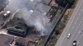 San Mateo House Fire Contained, Streets Re-Open