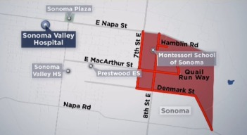 Evacuation Orders and Centers in the North Bay