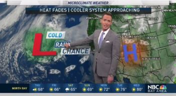 Jeff's Forecast: AM Clouds and Shower Chance