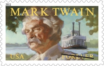 Twain Stamp to Launch in Old Sac