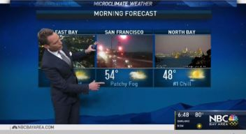 Jeff's Forecast: Dropping Temps and Rain Ahead