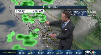 Jeff's Forecast: Rain Chance Lingers