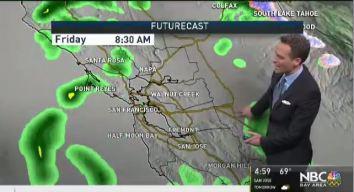 Jeff's Forecast: Rain At Times
