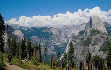 Group Hike, Glacier Point, Glorious Views
