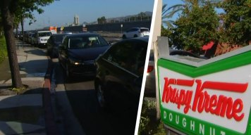 Burbank Police Issue Traffic Advisory for Krispy Kreme Promo
