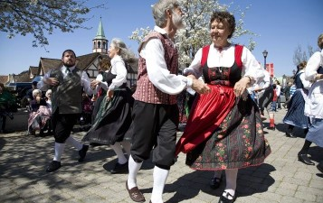 Danish Days Dance in Solvang