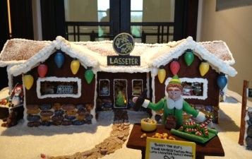 Sonoma Valley Gingerbread Winery Contest