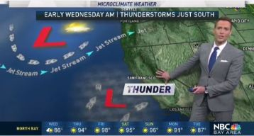 Jeff's Forecast: T-Storms South