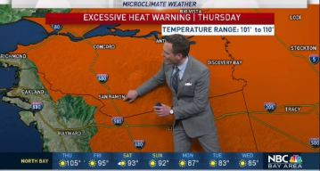 Jeff's Forecast: Dangerous 107 Thursday