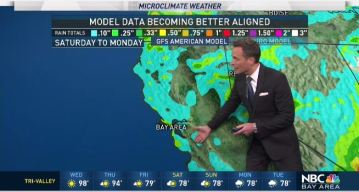 Jeff's Forecast: Isolated Heat and Updated Rain Chances