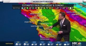 Jeff's Forecast: 2 Weekend Storms & Sierra Snow