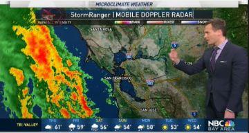 Jeff's Forecast: Rain Tonight & Stronger Storm Ahead
