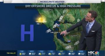 Jeff's Forecast: Mild Tuesday and Few Showers Ahead