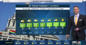 Jeff's Forecast: Cooler & Pride Parade Weather