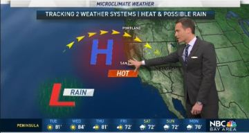 Jeff's Forecast: Fire Danger and Rain Chance Ahead