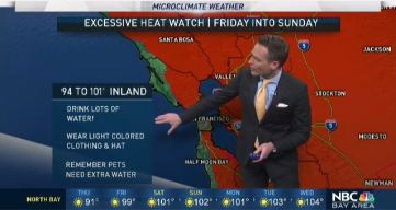 Jeff's Forecast: Hot 100s Ahead