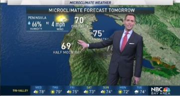 Jeff's Forecast: Rough Surf & Isolated 80s