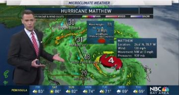 Jeff's Forecast: Matthew Path & Hotter 80s