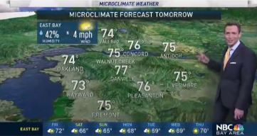 Jeff's Forecast: Warm 70s & Showers Ahead