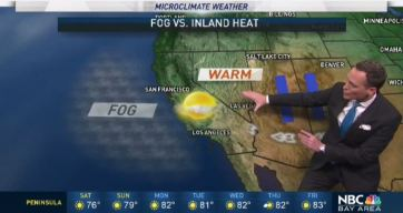 Jeff's Weekend Forecast: Fog vs. Inland Heat