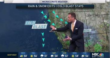 Jeff's Forecast: Cold 30s, Brief Break and More Rain Soon
