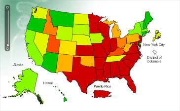 The Nation is in Flu Epidemic But California is Doing OK