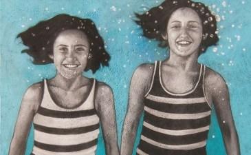 Street Painting Pop-Up Meets '40s California