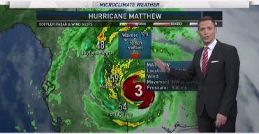 Jeff's Forecast: Warm 80s & Matthew Track