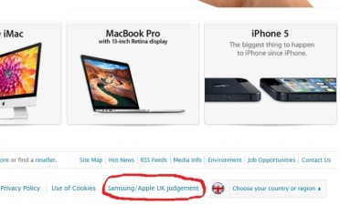 Apple Apologizes -- Sort of -- to Samsung