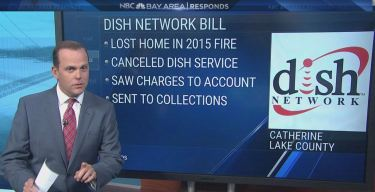 Woman Hit With Dish Network Bill After Home Lost in Fire