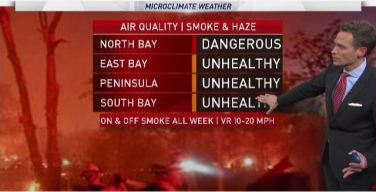 Jeff's Forecast: North Bay Fire Forecast