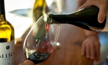Underwater-Aged Wine from Napa