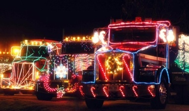 NorCal Cheer: Trucks All Done Up in Lights
