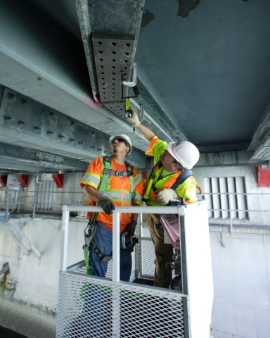 San Mateo Bridge Fix in Photos