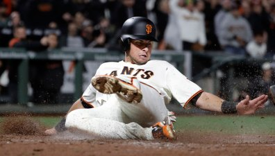 Giants End Four-Game Skid With Series-Opening Win Over LA
