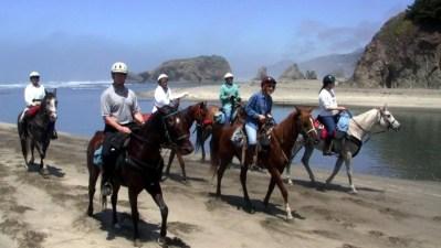 Beach Riding at Ricochet Ridge