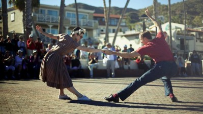Swing Time on Catalina Island