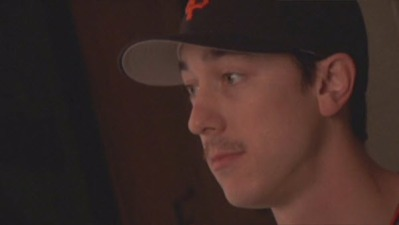 Tim Lincecum Sports Mustache at Giants Picture Day