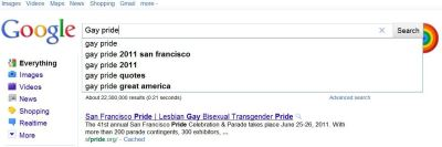 Is Google Keeping Gay Pride in the Closet?