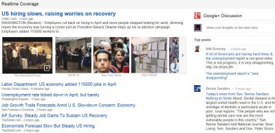 More Google+ in Google News