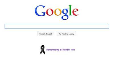 Google Drops the Doodle for 9/11