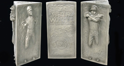 The Beard Gets Frozen in Carbonite