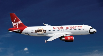 Virgin America Jet Goes to Brian Wilson