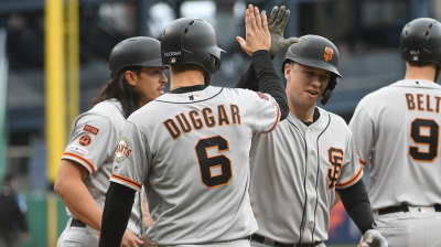 Posey Ends Long Homerless Drought, Giants Edge Pirates 3-2